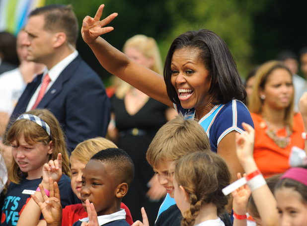Michelle Obama at Let's Move!