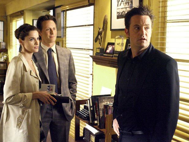 'Studio 60 on the Sunset Strip' - Amanda Peet, Matthew Perry, Steven Weber 'Pilot'