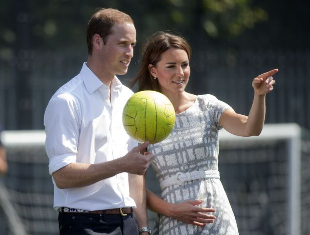 Prince William, Duchess of Cambridge, Olympics 2012