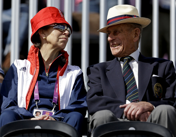 Princess Anne and Prince Phillip, Duke of Edinburgh