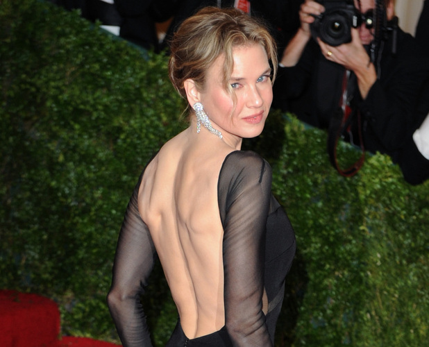 Renee Zellweger at Schiaparelli and Prada &#39;Impossible Conversations&#39; Costume Institute Gala 2012 at The Metropolitan Museum of Art in New York City, USA - 07.05.12