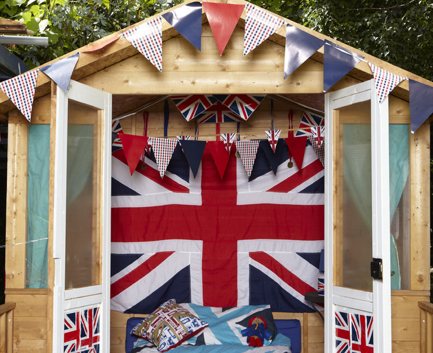 Olympic shed