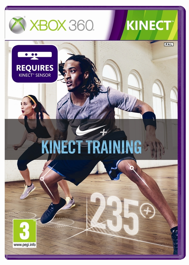 'Nike+ Kinect Training' pack shot