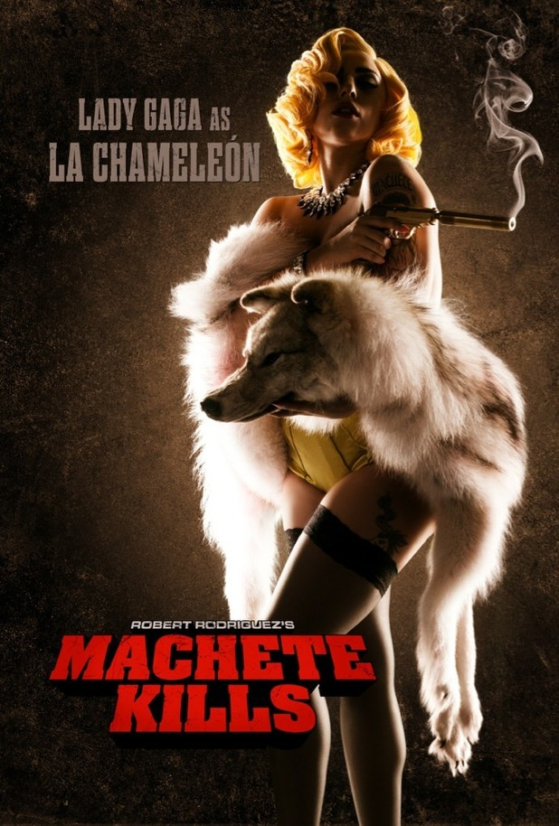 Lady GaGa, Machete Kills poster