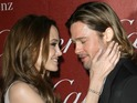 Angelina Jolie apparently tells a restaurant owner that she is not marrying yet.