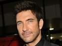 Dylan McDermott taken aback by question on late mother during GMA appearance.