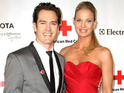 Mark-Paul Gosselaar and wife Catriona McGinn had their first baby on Monday.