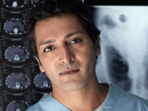 Hari Dhillon as Michael Spence in Holby City