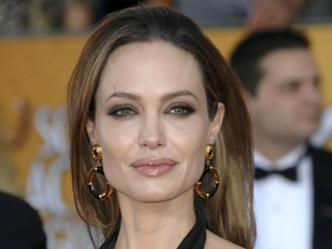 Angelina Jolie 18th Annual Screen Actors Guild Awards (SAG Awards) held at The Shrine Auditorium - Red Carpet Arrivals Los Angeles, California - 29.01.12 Mandatory Credit: Apega/WENN.com