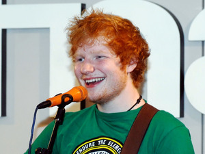 Ed Sheeran greets fans and performs a mini gig at the Fnac in Milan Milan, Italy - 28.06.12 **Available for publication in UK, Germany, Austria, Switzerland. Not available for publication in the rest of the world** Mandatory Credit: Massimo Barbaglia/WENN.com