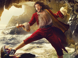 Russell Brand as Captain Hook for 'Disney Dream Portrait'