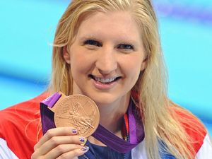 Rebecca Adlington Olympic gold medal London 2012