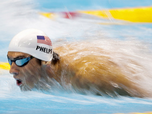 Michael Phelps, 2012 London Olympic Games, Swimming