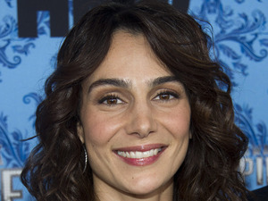 "Annie Parisse attends the premiere of HBO's ""Boardwalk Empire"" in New York"