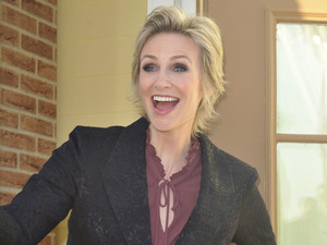 Jane Lynch at the Comedy Central Roast of Roseanne Barr held at the Hollywood Palladium.