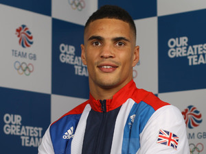 Great Britain's Boxer Anthony Ogogo during the London 2012 kitting out session at Loughborough University, Loughborough.