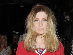 Miss Mode: Nicola Roberts in sweatshirt dress