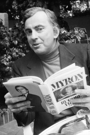 Gore Vidal pictured in 1977