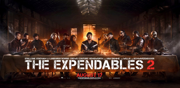 The Expendables 2' Unveils New 'Last Supper'-Inspired Poster
