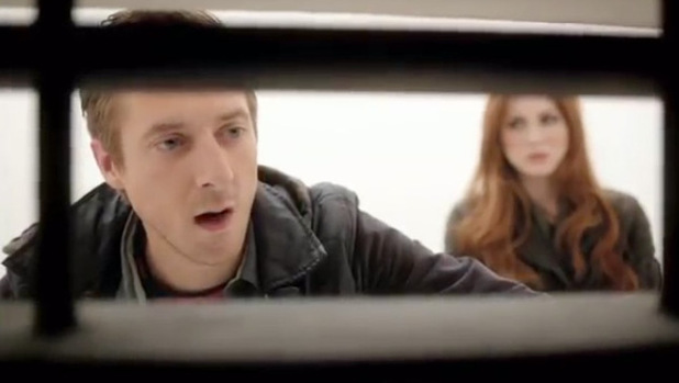 Doctor Who Series 7 trailer: Rory and Amy