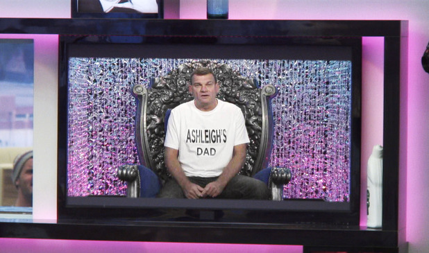 Ashleigh's dad in nominations