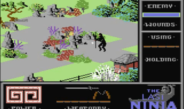 The Last Ninja on Commodore 64