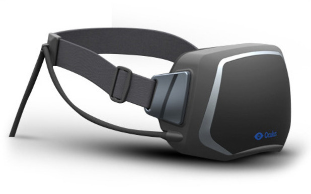 Oculus Rift VR headset