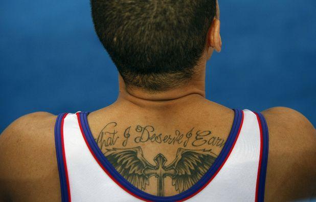 Tattoed Olympians