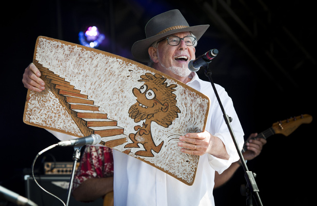 Camp Bestival 2012: Rolf Harris