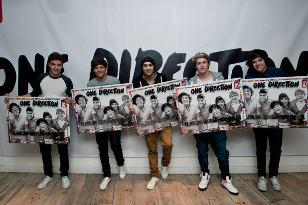 One Direction sell 12 million records in one year
