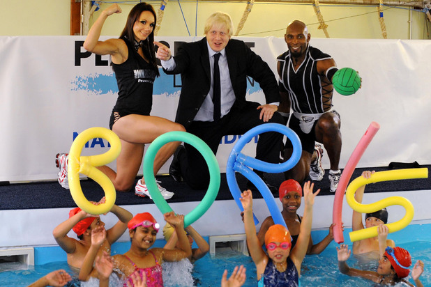 Boris Johnson, Gladiators