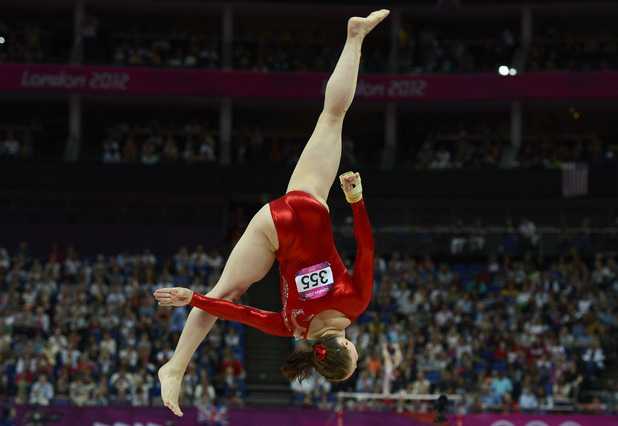 Hannah Whelan, gymnastics, London 2012