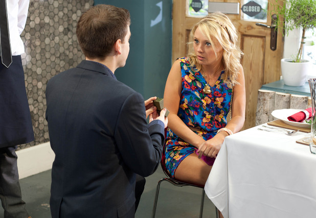 Doug proposes to Leanne.