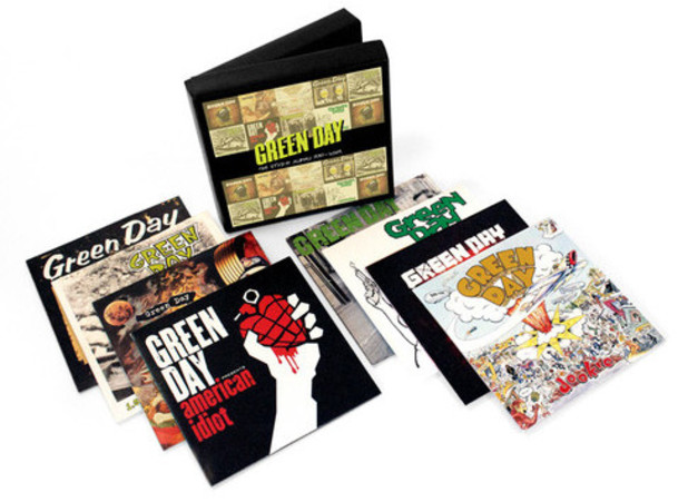 Image of the Green Day Boxset