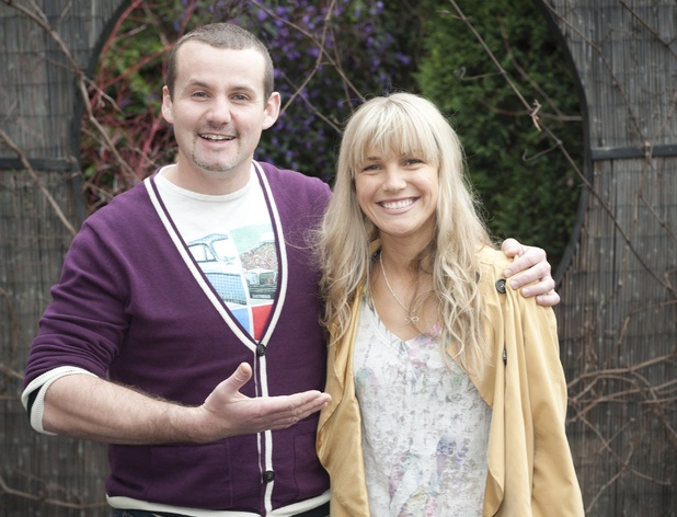 Saskia Hempele as Georgia Brookes and Ryan Moloney as Toadie Rebecchi