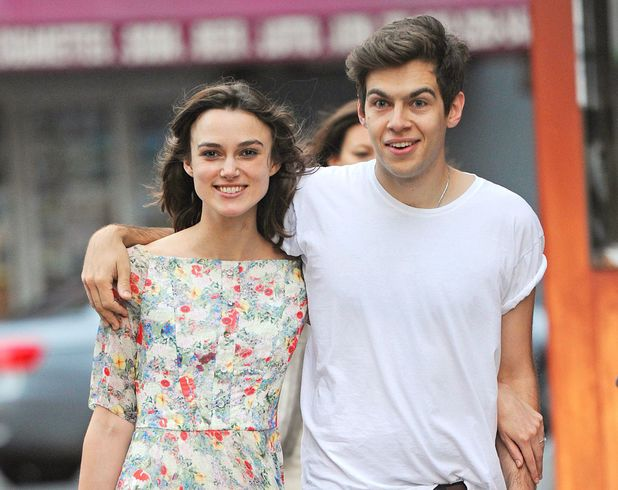 Keira Knightley and fiance James Righton