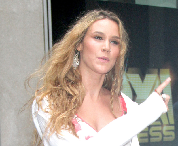 Joss Stone leaving Fox Studios in Manhattan New York City, USA