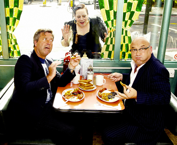 John Torode and Gregg Wallace in Heat