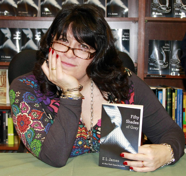 E L James, author of fifty shades of grey