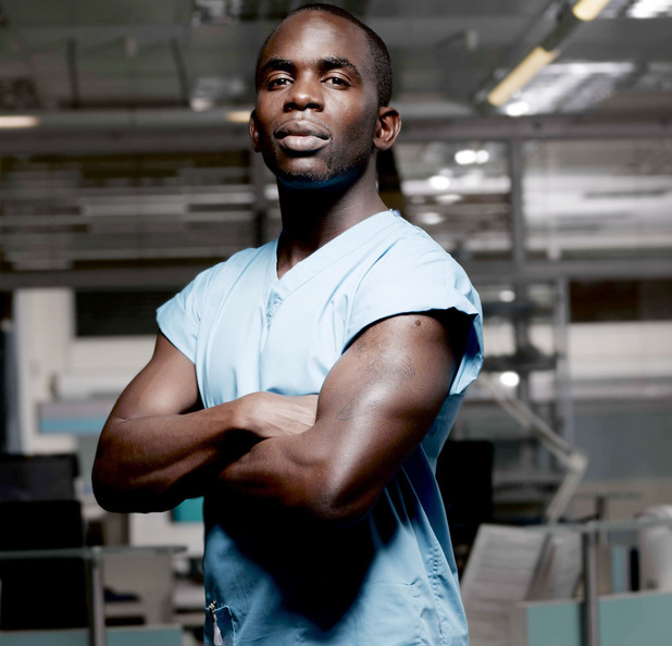 Jimmy Akingbola as Antoine Malick in Holby City