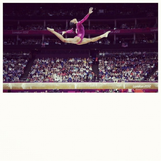 Gabrielle Douglas, US gymnast, London 2012
