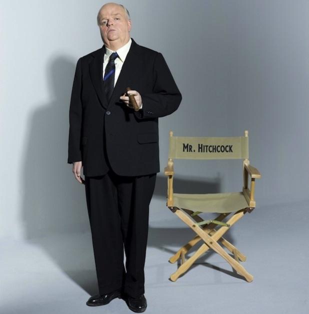 Toby Jones as Hitchcock in HBO's The Girl