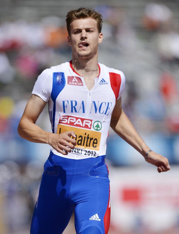 3) Christophe Lemaitre
