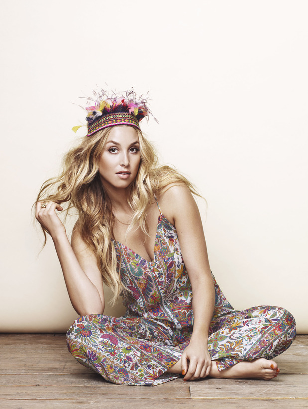 Whitney Port poses for Company
