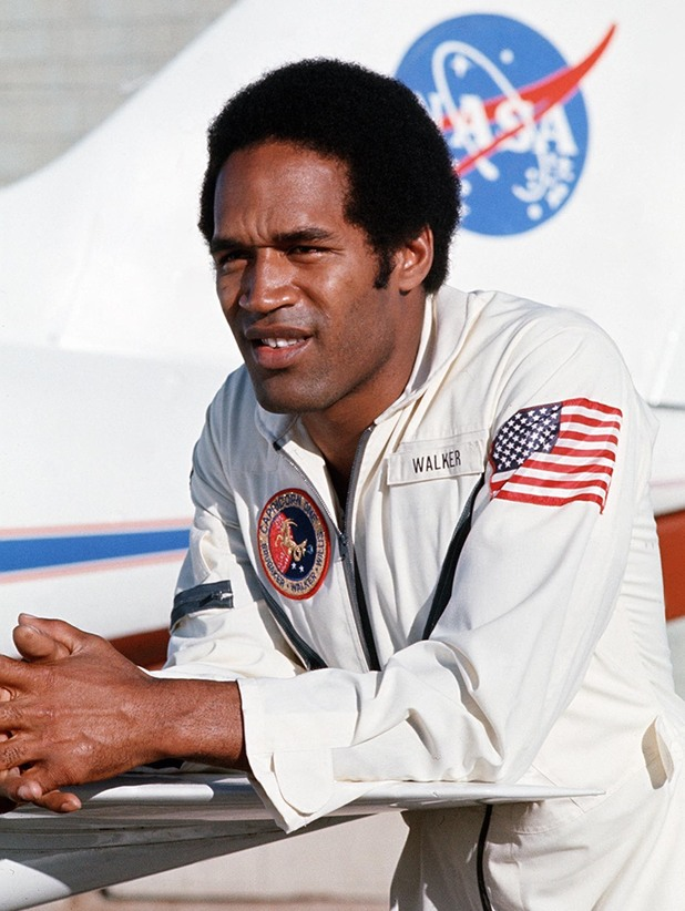 'Capricorn One' Film - 1978 - Commander John Walker (O.J.Simpson)