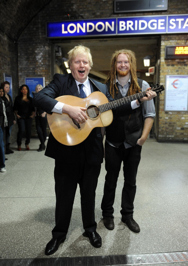 Boris Johnson, Newton Faulkner