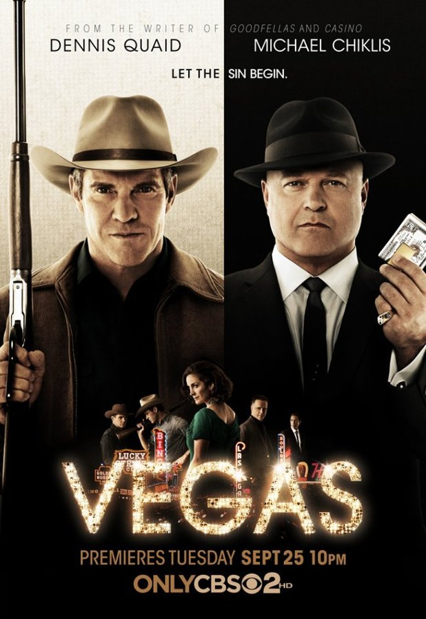 CBS Key Art: 'Vegas' poster