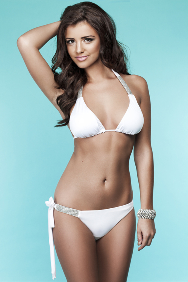 Lucy Mecklenburgh swimwear range for Bella Bamba