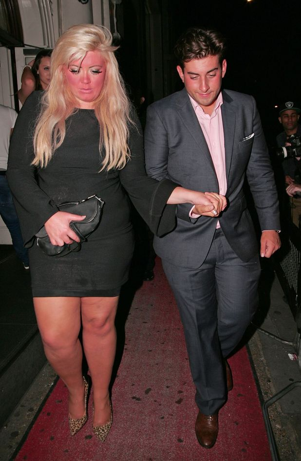 Gemma Collins and James Argent, Joey Essex Birthday at Funky Buddha nightclub