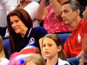 Watch Aly Raisman's parents endearingly react as they watch their daughter.